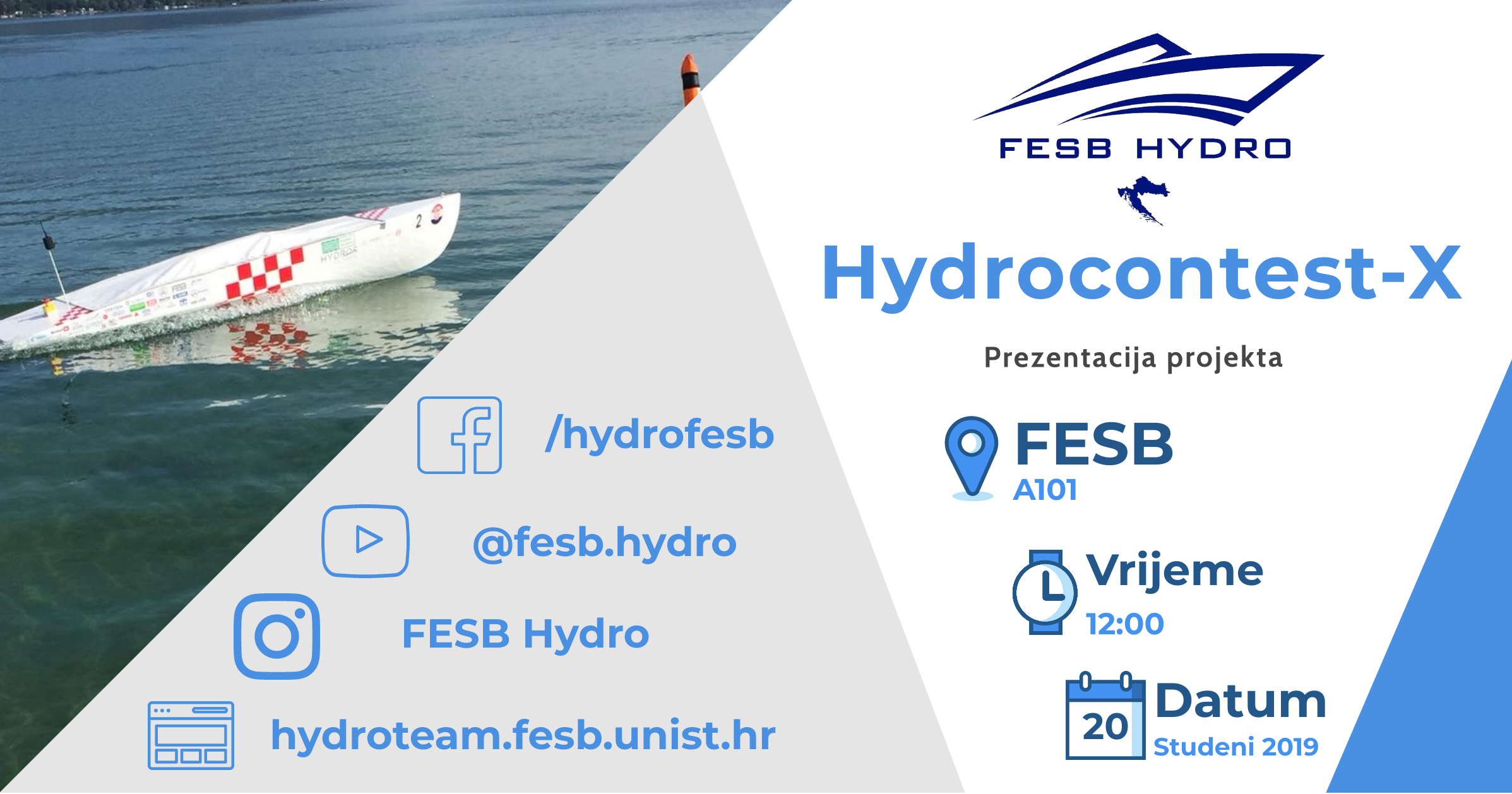 Presentation of the project Hydrocontest-X 2019