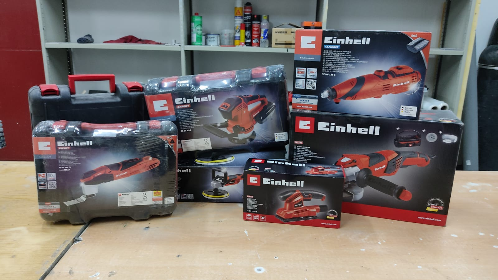 Continued collaboration with the company Einhell