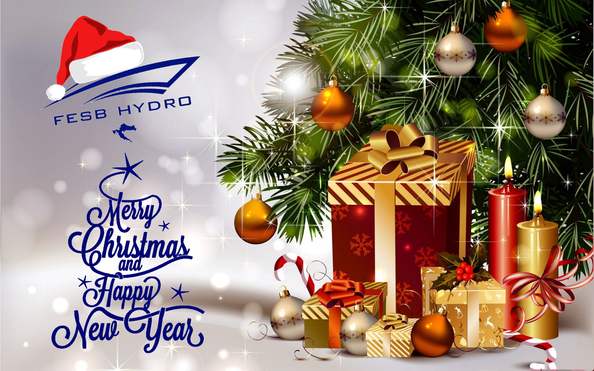 Merry Christmas and Happy New Year wishes you FESB Hydro team