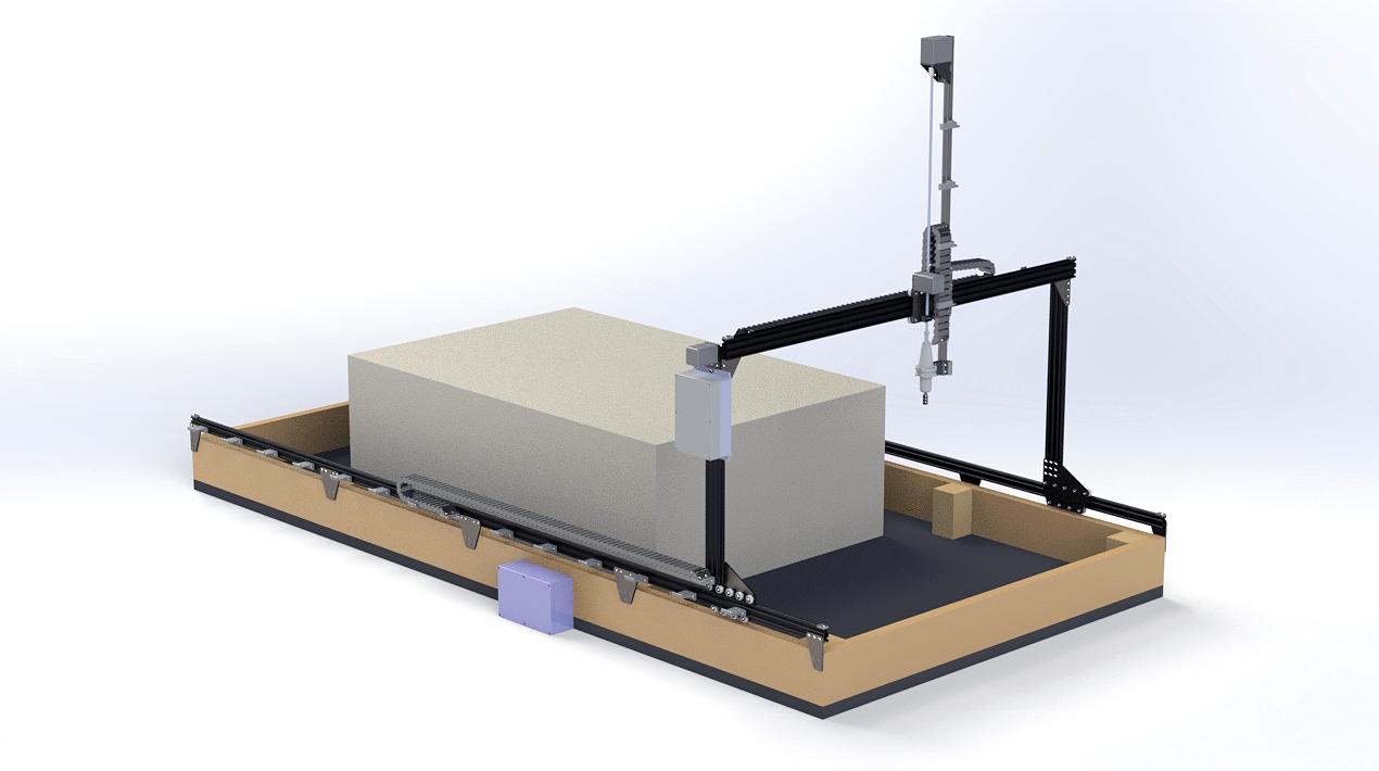 New project – CNC machine