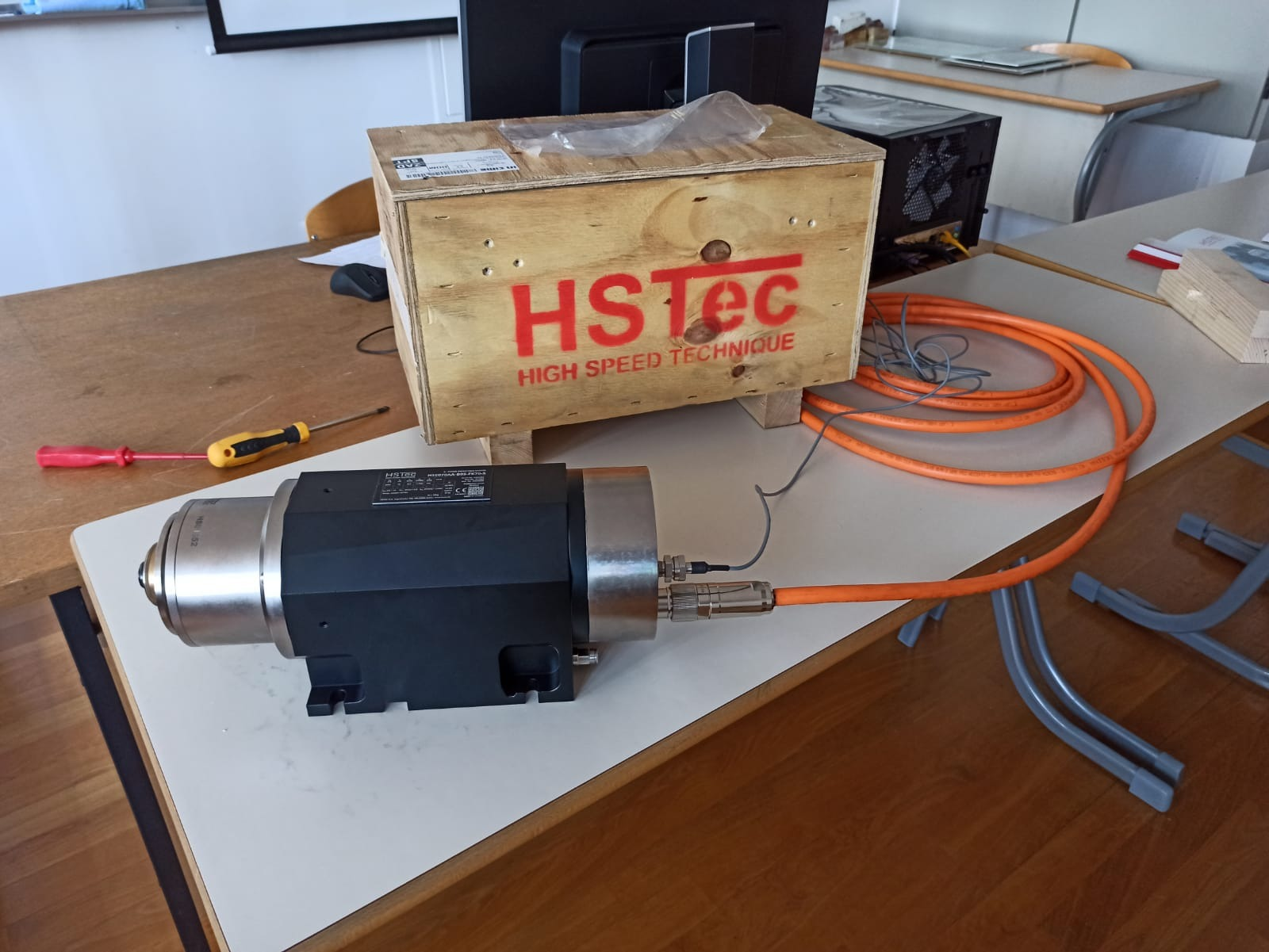 A very valuable donation from the company HSTec