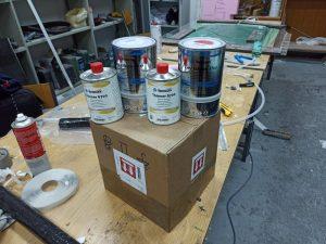 Donation of paint from Veneziani Yachting